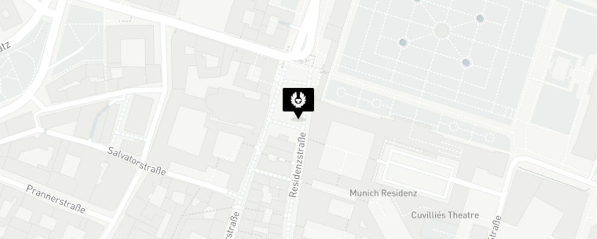 Map for Munich, Germany store