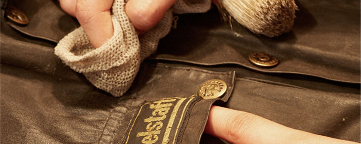 Cleaning leather Belstaff products