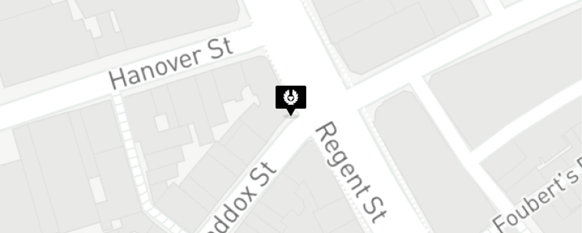 Map for London, United Kingdom store