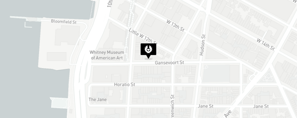 Map for New York, United States store