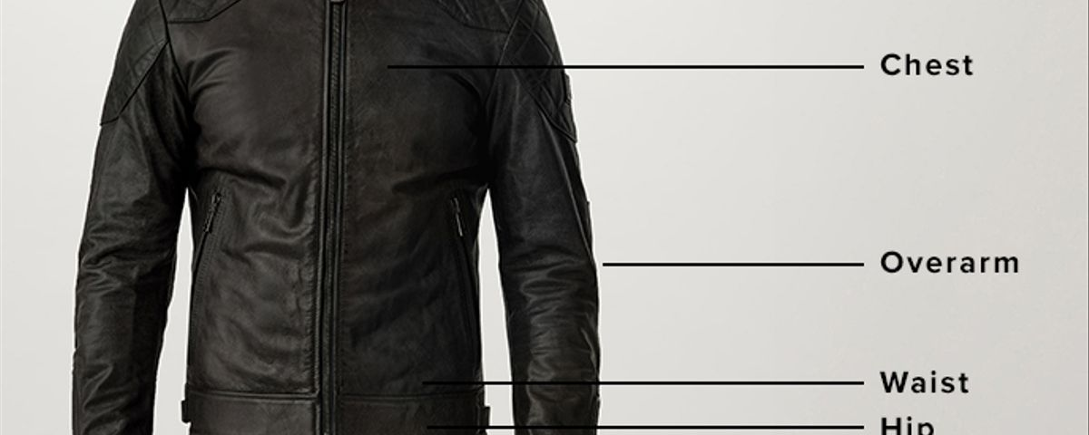 Measurement locations for outerwear
