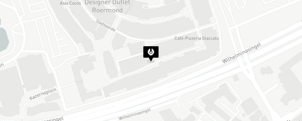 Map for Roermond, Netherlands store